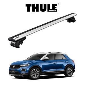 VW T-Roc ウィングバー EVO ルーフラック 『車種別セット』THULE Base carriers (スーリーベースキャリア) キャリアラック パーツ 6degrees