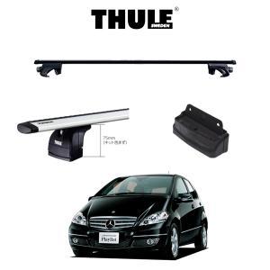 『車種別セット』THULE Base carriers (スーリーベースキャリア)スクエアバー・Benz A-Class/メルセデスベンツ/キャリアラック|6degrees