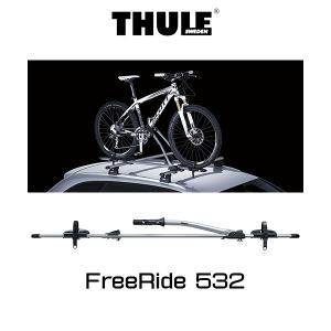 THULE Roof mounted carries (ルーフマウントサイクルキャリア) FreeRide 532 /キャリアラック/アウトドア/USDM/STANCE NATION|6degrees