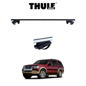『車種別セット』THULE Base carriers (スーリーベースキャリア)スクエアバー・FORD EXPLORER/フォード・エクスプローラー (ルーフレール付き)/キャリアラック|6degrees