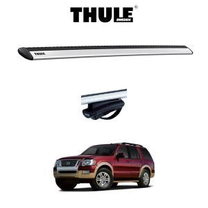 『車種別セット』THULE Base carriers (スーリーベースキャリア)ウイングバー・FORD EXPLORER/フォード・エクスプローラー (ルーフレール付き)/キャリアラック|6degrees