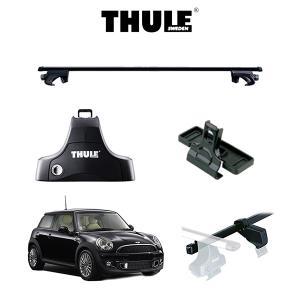 『車種別セット』THULE Base carriers (スーリーベースキャリア)スクエアバー・BMW MINI/ミニ/キャリアラック|6degrees