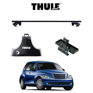 『車種別セット』THULE Base carriers (スーリーベースキャリア)スクエアバー・Chrysler PTCruiser/クライスラー・PTクルーザー/キャリアラック|6degrees