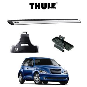 『車種別セット』THULE Base carriers (スーリーベースキャリア)ウイングバー・Chrysler PTCruiser/クライスラー・PTクルーザー/キャリアラック|6degrees