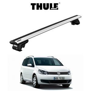 『車種別セット』THULE Base carriers (スーリーベースキャリア)ウイングバー・VW TOURAN/フォルクスワーゲン トゥーラン(ルーフレール付き)/キャリアラック|6degrees
