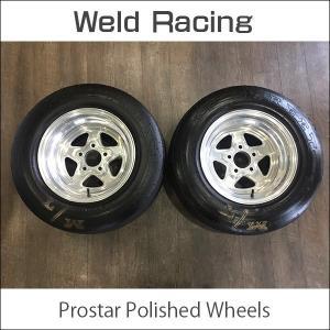中古 WELD RACING 96 Pro Star Wheels 15x10J ±0 5H 120.65 MICKEY THOMPSONタイヤ カマロ コルベット アメ車 ドラッグ|6degrees