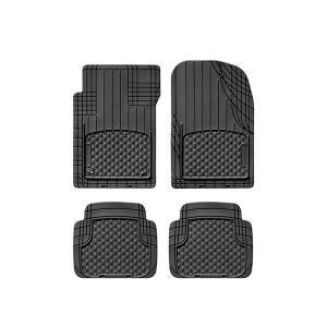 WeatherTecク AVM フロアマッh/ウェザーテット フロアライナー(左ハンドル車専用汎用品 リアセパレート ブラック)|6degrees