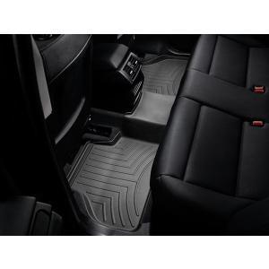 WeatherTech/ウェザーテック フロアライナー BMW Xシリーズ F25 X3/F26 X4  2014〜2016年 フロアマット(リア・ブラック)|6degrees
