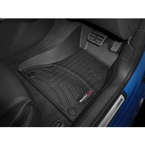 WeatherTech/ウェザーテック フロアライナー Audi(アウディ) A5/S5/RS5(8T) 右ハンドル車 フロアマット/フロアライナー(フロント)(ブラック)|6degrees