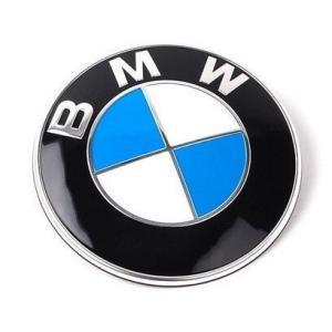 BMW純正部品 純正エンブレム 82mm 1個 純正グロメット 2個セット