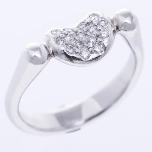 ティファニー ビーン リング 指輪 ダイヤ リング プラチナ TIFFANY&Co.|7-marui