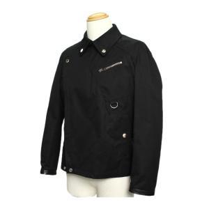 グッチ メンズ ジャケット ライダース コットン×レザー ブラック サイズ54 GUCCI 7-marui