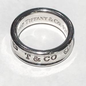 ティファニー リング 指輪 1837 シルバー SV925 TIFFANY&Co|7-marui