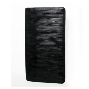 ルイ・ヴィトン ポルトカルトクレディ M63212 札入れ 円用  エピ カードポケット付き ノワール LOUIS VUITTON|7-marui