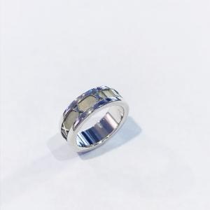 ティファニー 指輪 アトラスリング SV925 シルバー 7.5号 TIFFANY&Co|7-marui