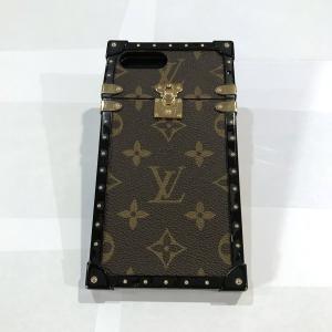 ルイヴィトン アイ・トランク スマホケース iphone 7 plus/8 plus M64479 モノグラム Louis Vuitton|7-marui