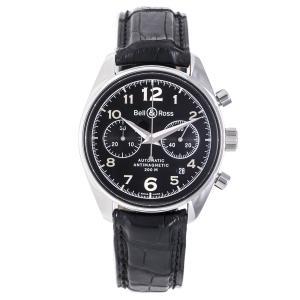 ベルアンドロス ジュネバ126  クロノグラフ 裏スケ 腕時計 メンズ BELL&ROSS|7-marui