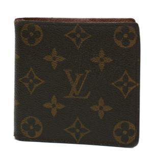 ルイ・ヴィトン 財布 二つ折り ポルト ビエ・カルト クレディ モネ M61665 モノグラム Louis Vuitton|7-marui