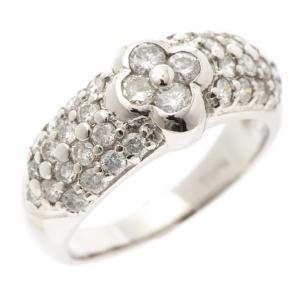 指輪 ダイヤ D1.0ct パヴェ リング ヴァンクリ風 Pt900|7-marui