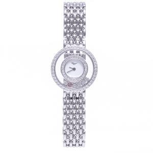 ショパール 時計 ハッピーダイヤモンド レディース 20/5691 K18WG ホワイトゴールド Chopard|7-marui
