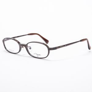 デュポン 眼鏡フレーム メガネフレーム 52□19-142 ダークブラウン系|7-marui