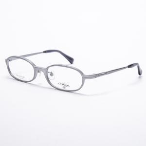デュポン 眼鏡フレーム メガネフレーム 52□19-142 マットシルバー系|7-marui