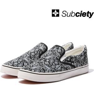 Subciety(サブサエティ) PAISLEY SLIP-ON|7-seven