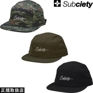 Subciety(サブサエティ) CAMP CAP|7-seven
