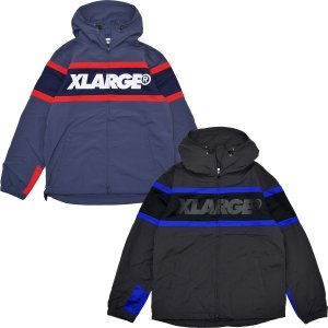 XLARGE(エクストララージ) HOODED PANELLED JACKET