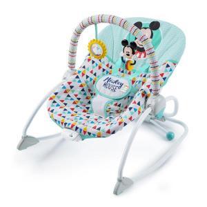 バウンサー ミッキーマウス・ハッピートライアングル・ロッカー ブライトスターツ bright starts ディズニー ベビー 赤ちゃん マタニティ 出産 祝 ギフト|716baby
