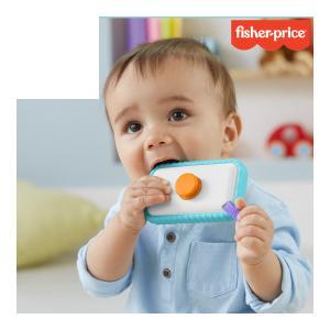 歯固め かわいい写真を撮ろう スマートフォン歯がため フィッシャープライス 赤ちゃん ベビー baby 育児 子育て おしゃぶり おもちゃ ギフト プレゼント|716baby