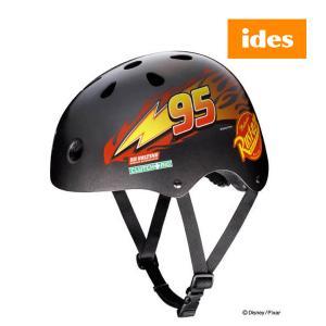 子ども用ヘルメット ストリートヘルメット カーズ Disney ディズニー キックバイク、自転車、スケボー バランスバイク 映画 男の子 女の子 アイデス ママ|716baby