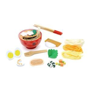 ままごと WOODY PUDDY ウッディプッディ はじめてのおままごと  めん料理セット ディンギー おもちゃ toys ギフト 誕生日プレゼント 子供 インスタ|716baby