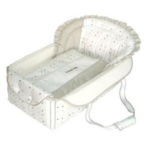 フジキ 日本製 バッグdeクーファン ベビーポルカ セピア バッグでクーファンfuziki クーハン バック おでかけ キャリー オムツ替え  一部地域 送料無料 716baby