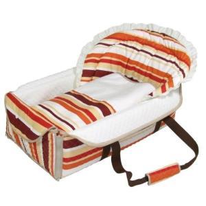 フジキ 日本製 バッグdeクーファン ボーダー OR オレンジ バッグでクーファンfuziki クーハン バック おでかけ キャリー ねんね オムツ替え 716baby
