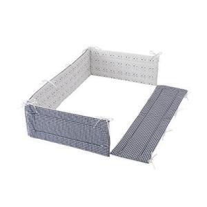 フジキ ベビーポルカ ベッドガードパット モノトーン ベッドガード 寝具 ベビー ベッド 保護 赤ちゃん 室内 カバー パット|716baby
