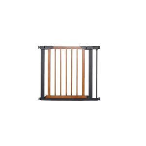 JTC スタイリッシュゲート Beni WOOD ブラウン フェンス ベビーフェンス ベビーゲート ゲート室内 セーフティ 安全|716baby