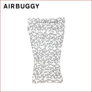 GMPインターナショナル エアバギー ストローラーマット アラベスク グレー airbuggy air buggy 着せ替えマット 汗取りマット クッション インナー シート|716baby