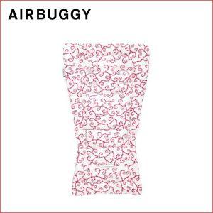 GMPインターナショナル エアバギー ストローラーマット アラベスク レッド airbuggy air buggy 着せ替えマット 汗取りマット クッション インナー シート|716baby