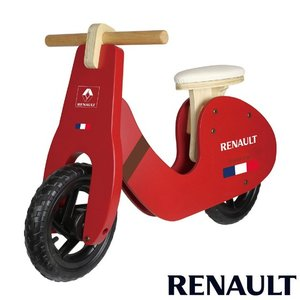 ルノー ウッディトレーニーバイク レッド RENAULT WOODY GIC ジック 自転車 バランスバイク トレーニングバイク 誕生日 ギフト 乗り物  子供 ママ 716baby