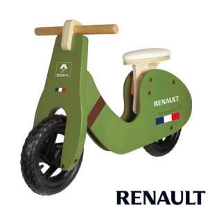 ルノー ウッディトレーニーバイク グリーン RENAULT WOODY GIC ジック 自転車 バランスバイク トレーニングバイク 誕生日 ギフト 乗り物 子供 ママ 716baby
