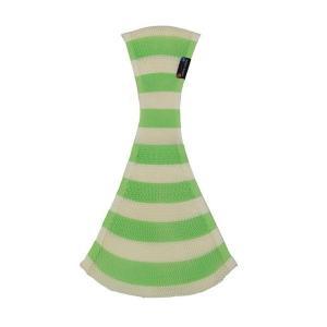 ラッキー工業 おしりSUPPORI ストライプ グリーン Mサイズ おしりスッポリ おしりすっぽり おんぶひも ベージュ 子守帯 抱っこひも だっこひも|716baby