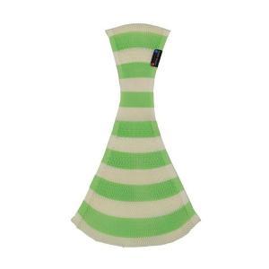 ラッキー工業 おしりSUPPORI ストライプ グリーン Lサイズ おしりスッポリ おしりすっぽり おんぶひも ベージュ 子守帯 抱っこひも だっこひも|716baby