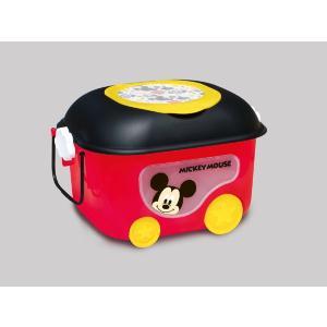 ギフト包装不可 ミッキーマウス窓付きおもちゃ箱 錦化成 nishiki kasei Disney バケツ 収納 おかたづけ 物入れ 家具 子供用タンス 人気商品|716baby