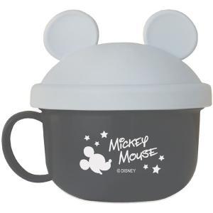錦化成 NEW ミッキーマウス ベビーフードカップ  GR 食器 携帯用  子供用 幼児用 おでかけ 旅行 ディズニー|716baby