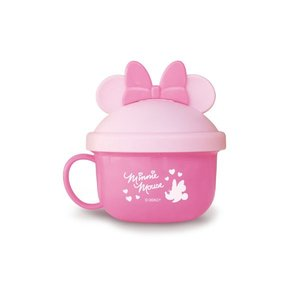 錦化成 NEW ミニーマウス ベビーフードカップ  PK 食器 携帯用  子供用 幼児用 おでかけ 旅行 ディズニー|716baby