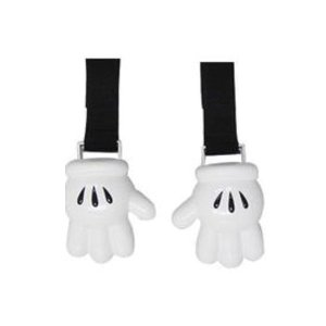 ベビーカーでブランケット等を使うときズリ落ちるのを防ぐクリップです。  ミッキーの手のデザインがかわ...