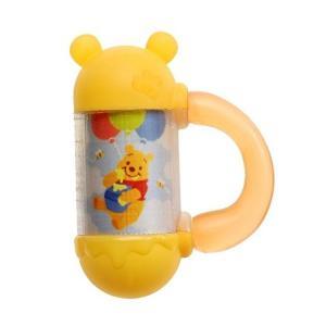 Dear Little Hands にぎってふってポロロン くまのプーさん タカラトミー ベビー キッズ Disney Pooh おもちゃ ギフト ガラガラ 知育 発育 SNS クリスマス|716baby