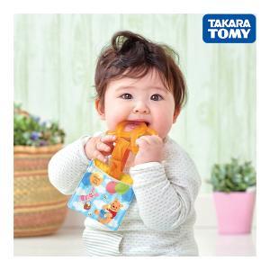 歯固め Dear Little Hands にぎりやすい歯固め キャンディープレッツェル くまのプーさん おもちゃ toys ギフト 歯固め ラトル おしゃぶり 出産祝い 安全 安心|716baby