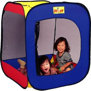 遊具 室内遊具 603 的当てゲームDEボールハウス EVAボール150個付 パピー  テント 子ども  誕生日 おもちゃ キッズ プレゼント お祝い おもちゃ 梅雨 雨|716baby